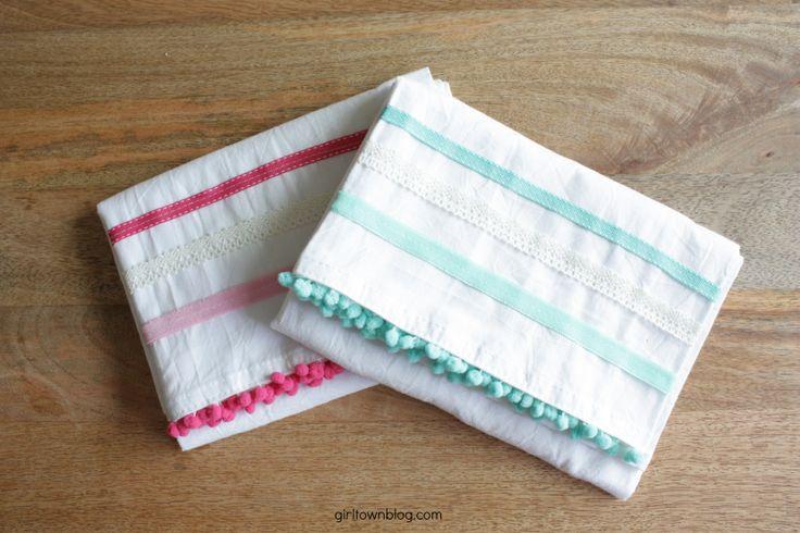 DIY Dish Towels Diy dish towels, Diy dish, Diy