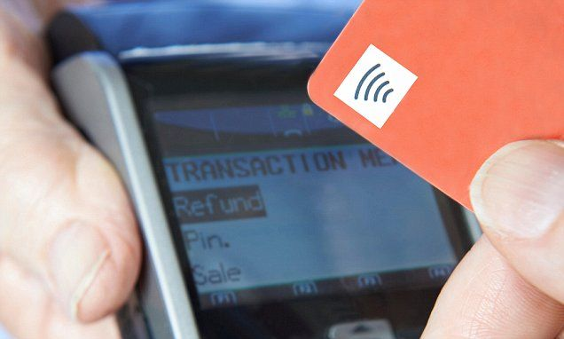 Fraud alert over new tap and pay bank cards