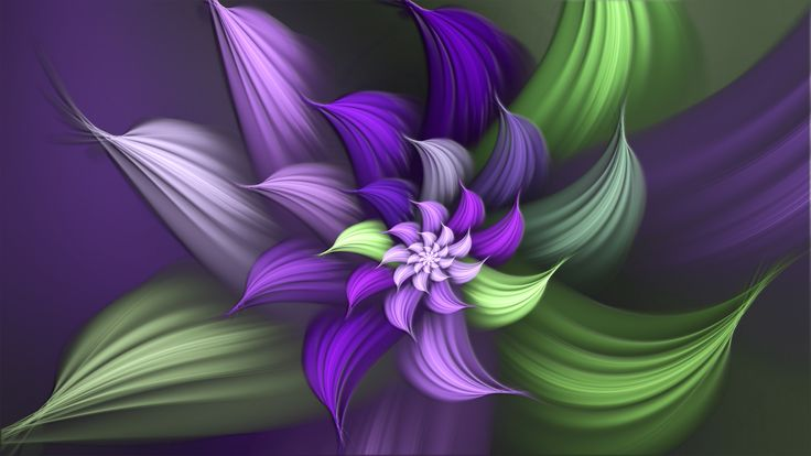 purple flowers pictures | Squeaky Purple Flower by Frankief