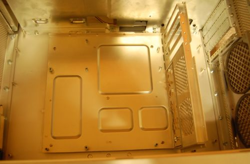 mac g5 atx pc modify double case back panel original