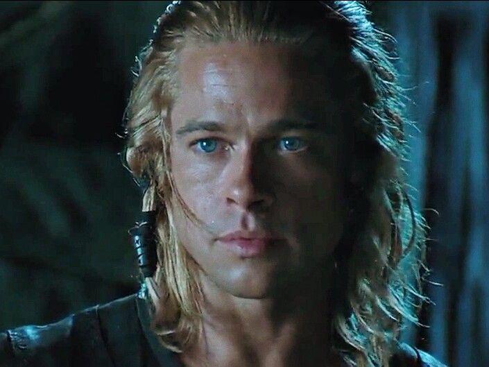 Brad Pitt As Achilles In Troy 2004 Brad Pitt Brad Pitt Troy Troy Movie