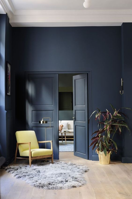 Interior Wall Colors best 10+ dark painted walls ideas on pinterest | reading room