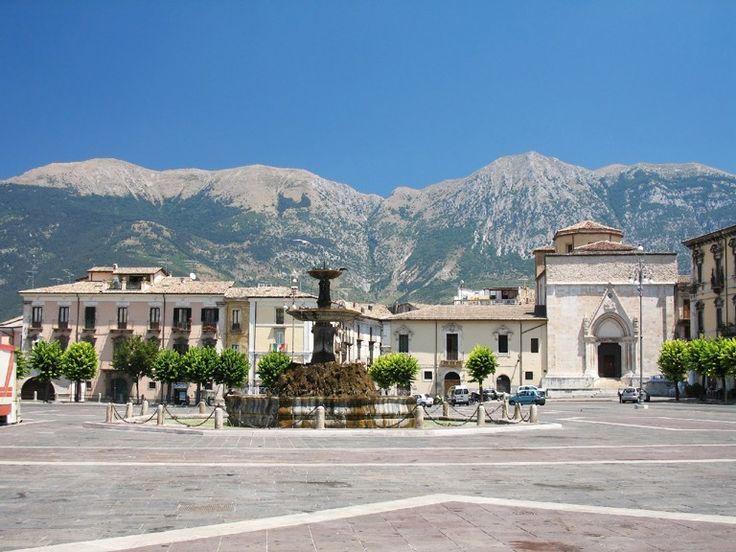 Piazza Garibaldi sulmona