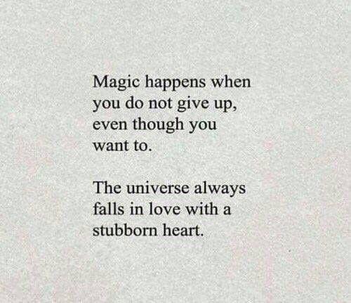 Magic happens.