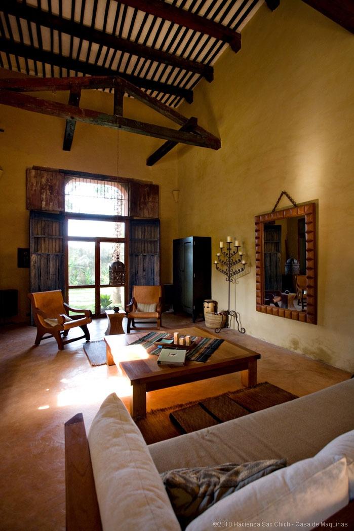 Hacienda haciendas y casas coloniales pinterest for Spanish hacienda style