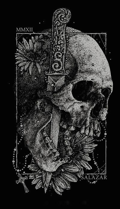 ☆ Skull Art By ゝ。Abacrombie Ink Hugo Silva ☆