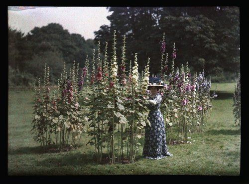 vintage everyday: Autochromes from 1910s