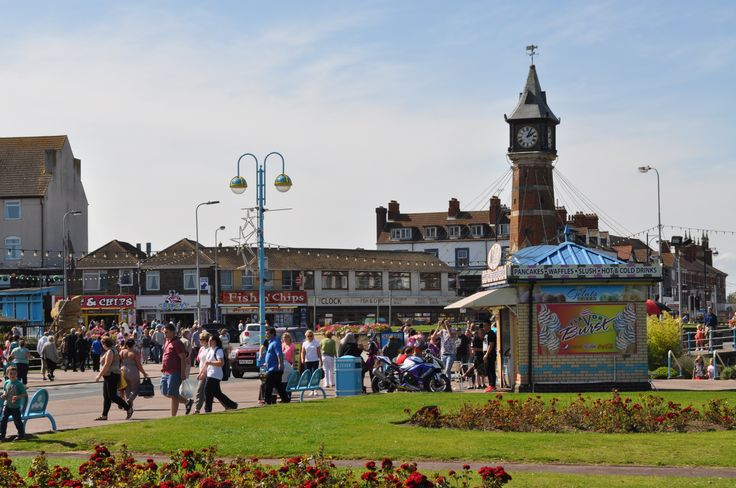 A View of Skegness Clock Tower