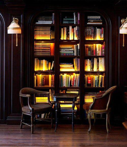 İyi Kitaplıklar Işık İster! | Kitaplık Manzaraları