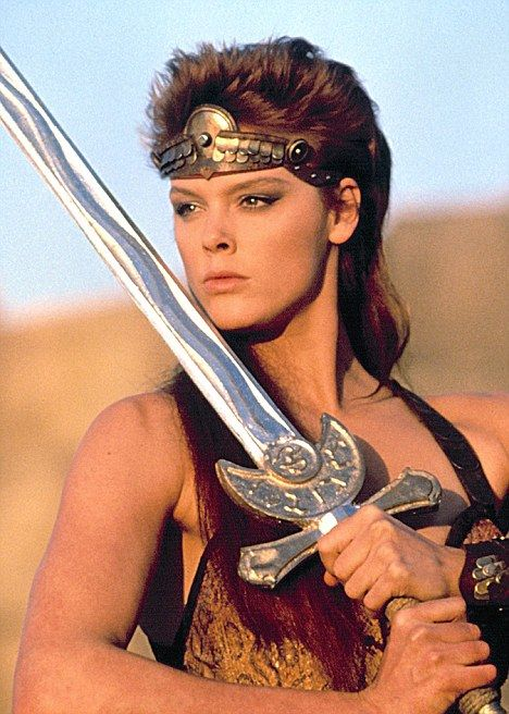 Brigitte Nielsen as Red Sonja in Red Sonja (1985)
