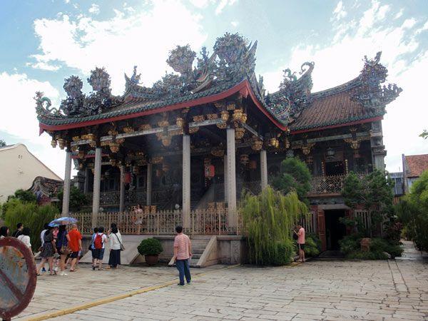 Templo chino de Leong San Tong en Georgetown