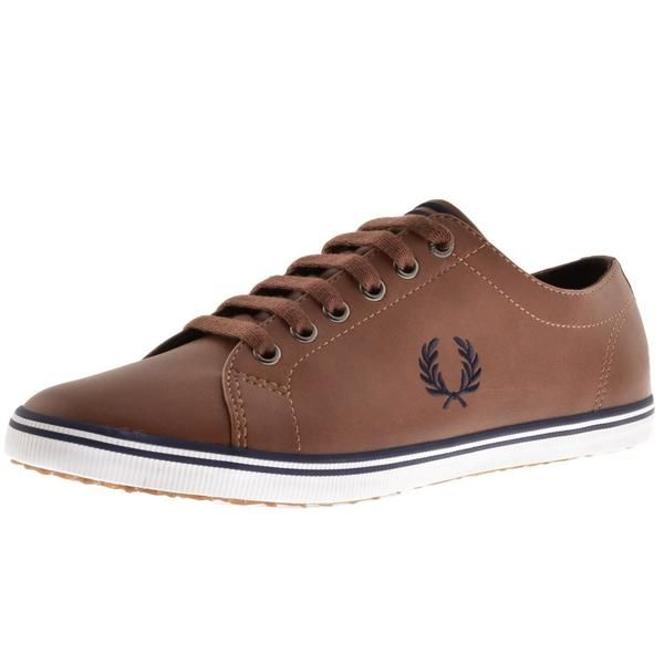 mens-fred-perry-kingston-leather-trainers-brown