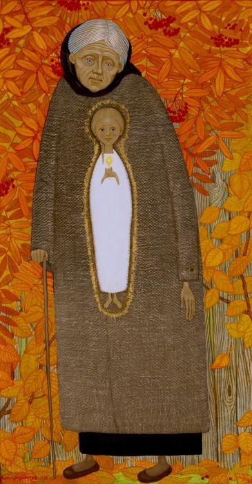 Свете светлый серия (Душа бабушки Полины) свет, святость, простев, рисунки простева, иконы александра простева, жития, иллюстрации, подпрки на венчание, семья православная, петр и феврония, православная любовь христианская семья прп сергий