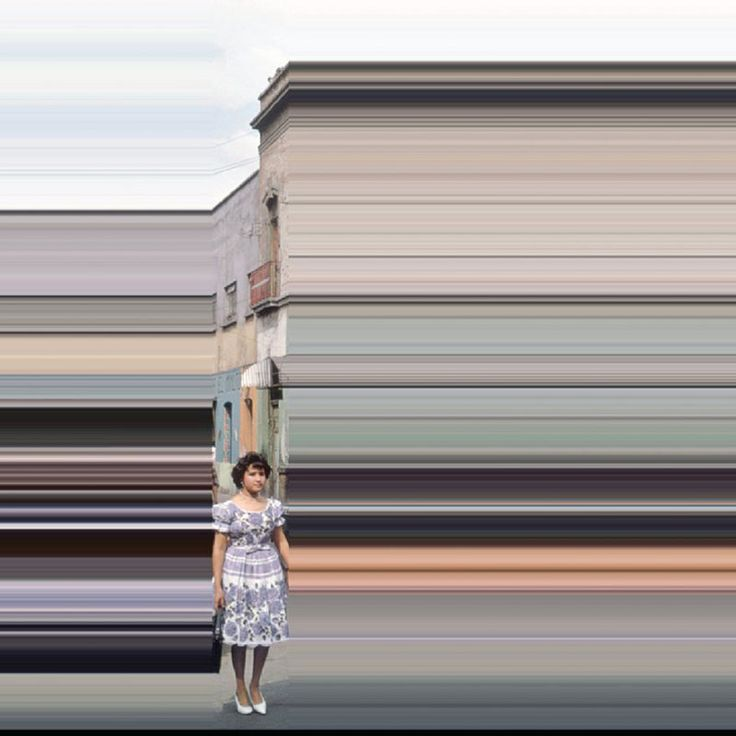 Lines We Live By: Photo Distortions by Frances Berry | Faith is Torment | Art and Design Blog