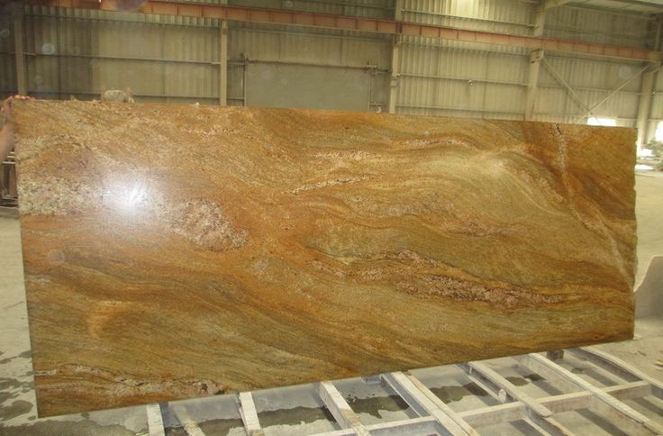 Imperial Gold Indian Granite Slab Price Big Granite Slab - Buy ...