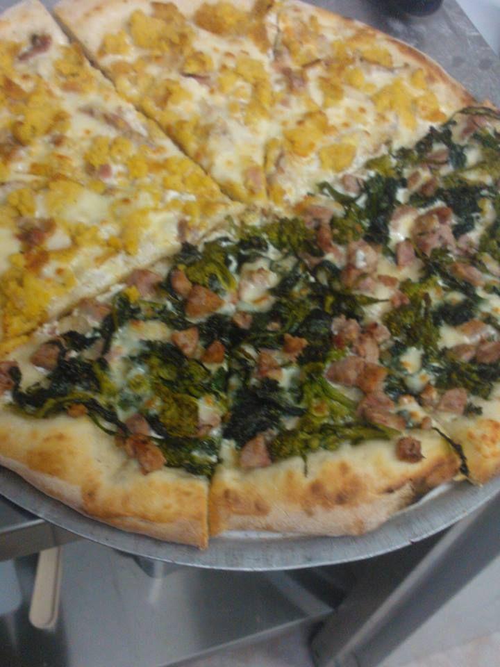 Pizza salcicce e friarielli