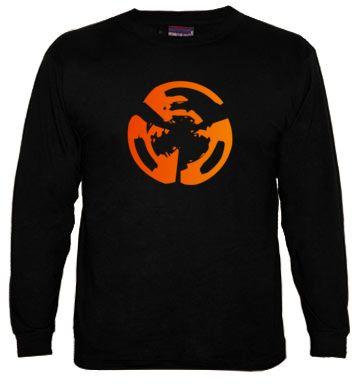 Camiseta Manga Larga Sencilla, Logo Rockenportada.com