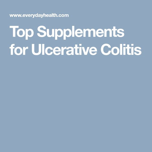 Top Supplements for Ulcerative Colitis