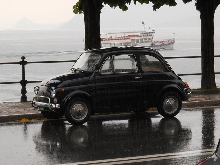 Lake Maggiore is always romantic, also when it's raining!