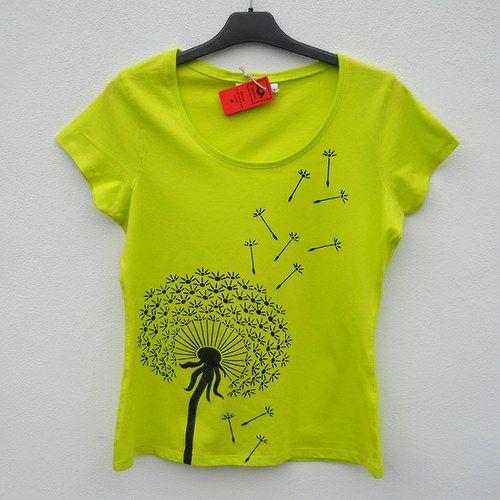 Dámské tričko Pampeliška http://www.fler.cz/zbozi/damske-tricko-pampeliska-3695007