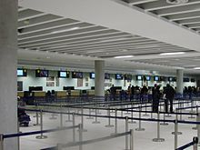 #TeamSmallBiz Imagine the chaos at airports if there were no stanchions? Paphos International Airport's stanchion army.