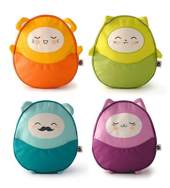 Kawaii Pac Mini Kids' Backpack | Remi | milkdot