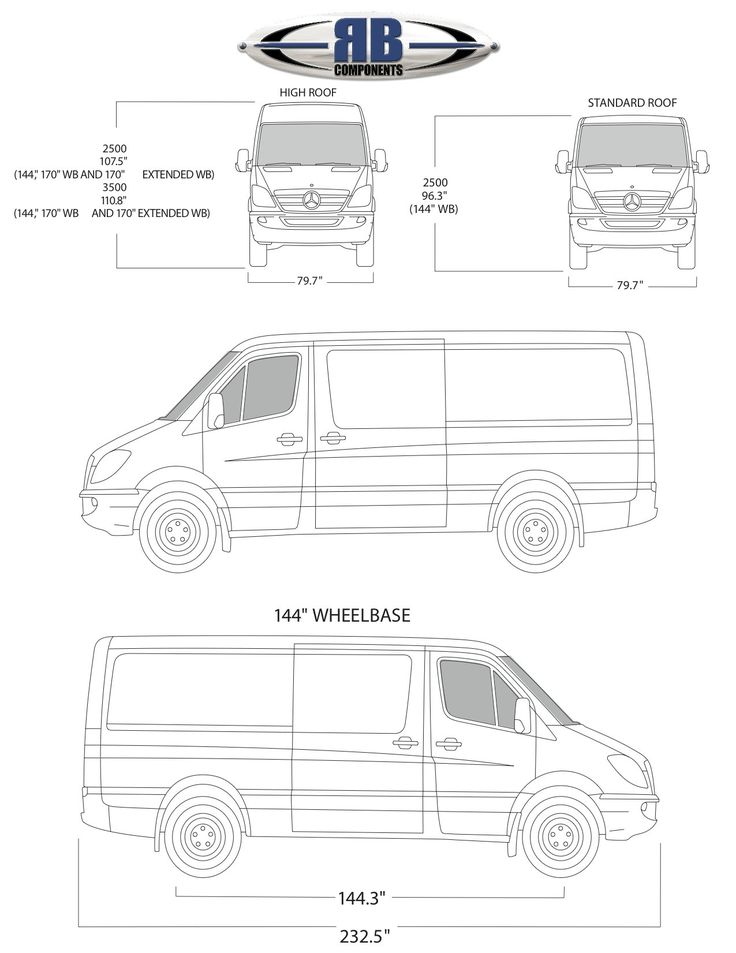 Sprinter Floorplan Templates 2compact Travel Pinterest