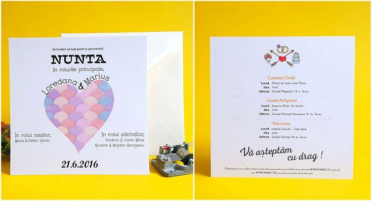catworks.ro va pune la dispozitie o gama variata de invitatii personalizate pentru nunti sau botezuri. Ne puteti gasi si pe Tumblr sau Pinterest!