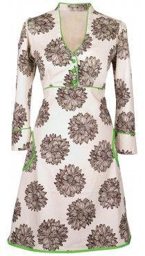 Ecouture by Lund - Yvonne - kjole i økologisk bomuldssatin