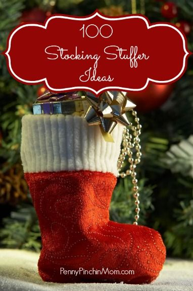 If you struggle with trying to find ideas for those stockings, then this is the list for you! You'll find 100 items listed out -- grouped by age. We've got them for babies/kids, teens, men, women -- and just about anyone! Great list to pin to your holiday board - so you can refer to it when you need some inspiration!