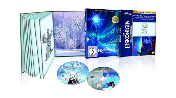 [Angebot]  Die Eiskönigin  Völlig unverfroren  Digibook ( BR) [3D Blu-ray] für 1399