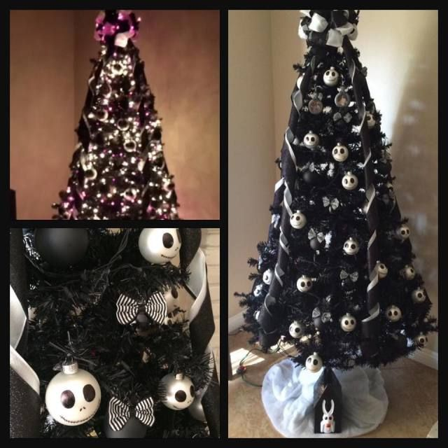 12 best images about nightmear before christmas tree on Pinterest - halloween decoration themes