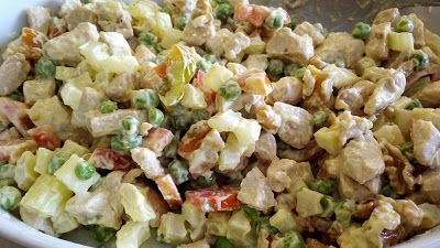 cucina di casa: insalata di pollo