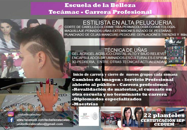 Escuela de belleza SEP Tecámac y Teotihuacán 5