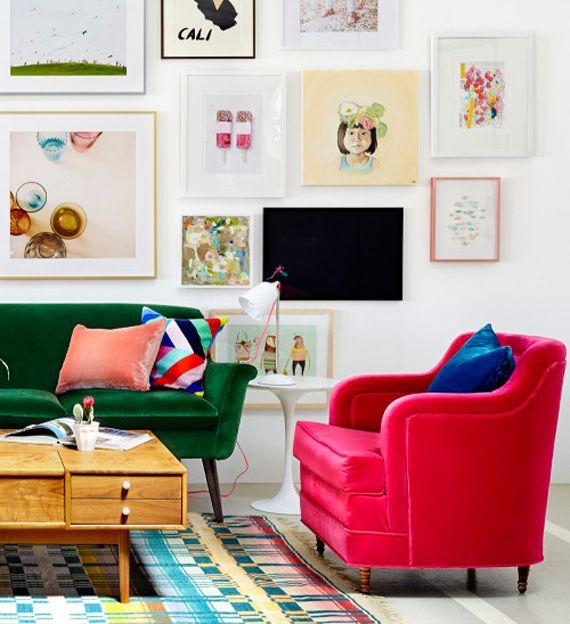 Escritório lindo, e uma ideia ótima - dcoracao.com - blog de decoração