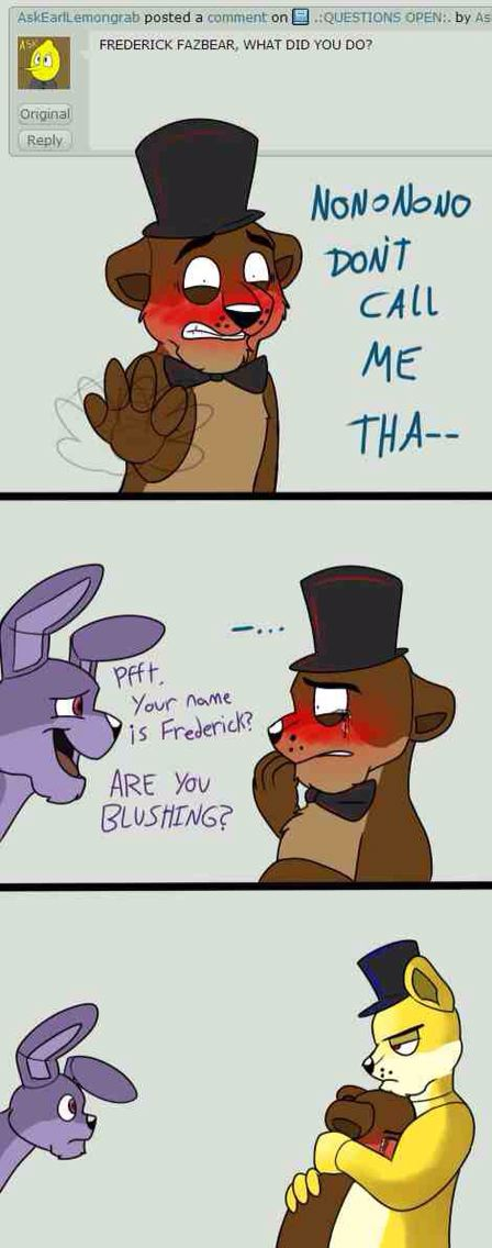 Aww.. Poor Freddy! *hugs him too and look's at Bonnie with an angry face*