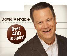 David Venable & other QVC recipes