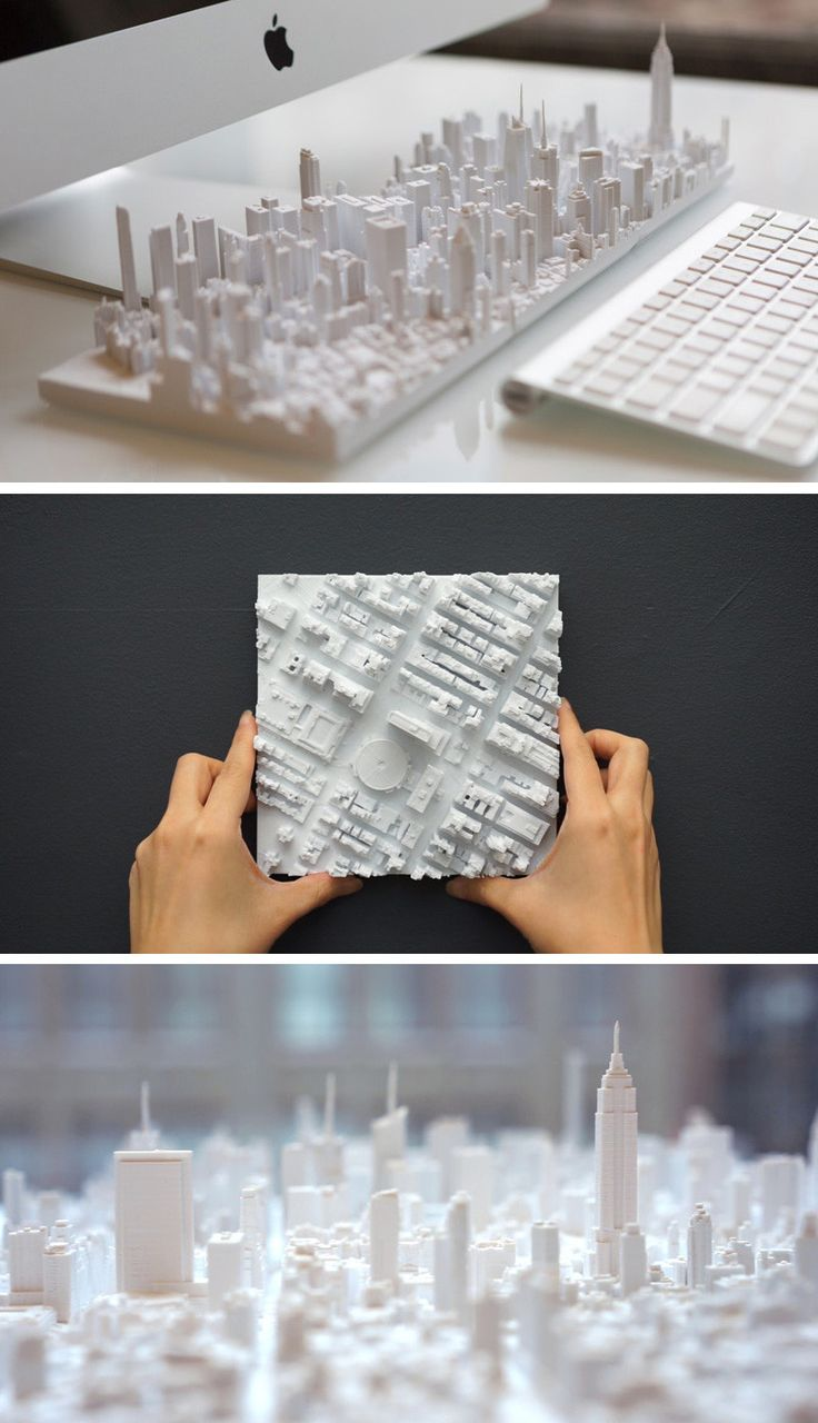 Now You Can Have New York In The Palm Of Your Hand // William Ngo, founding partner at TO+WN DESIGN, and Alan Silverman, principal at AJSNY, have worked together to create Microscape.