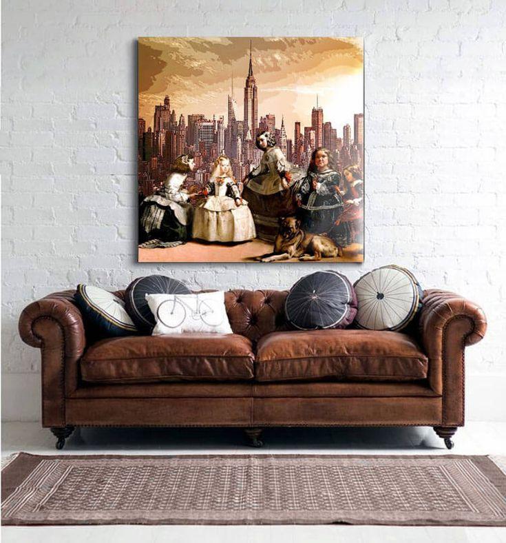 cuadros de las meninas versin delier mas info en tienda online cuadros modernos