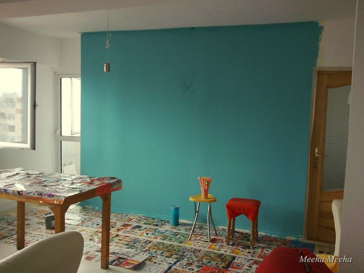 turquoise rooms | Meeha Meeha: Before and after: Turquoise living room