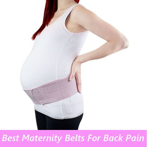 Best Maternity Belts For Back Pain, Pregnant women experience back pain at…