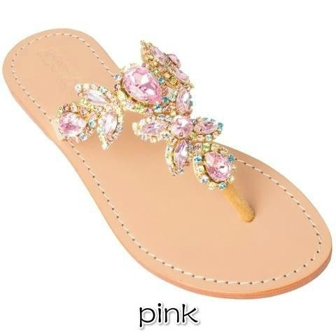e78340ae0c22e7 Summer Plus Size Ladies Sandals Rhinestone Design Flip Flops Sandals ...