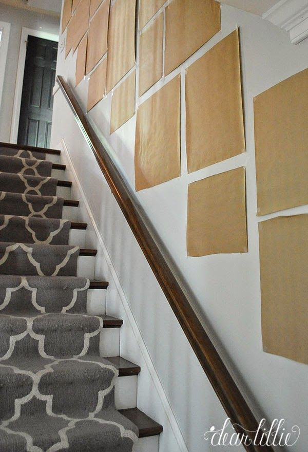 hallway finally. finally a gallery wall for our stairway by dear lillie galleries pinterest stairways and walls hallway