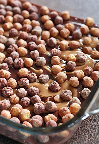 Reese's puff brownies
