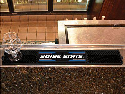 """Boise State Drink Mat 3.25""""""""x24""""""""   #allweatherfan #fangear #sportsfan"""