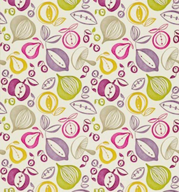 Sanderson Portobello Wallpaper DFIF210224 Green Mauve
