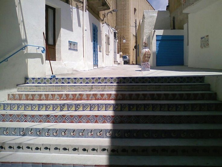 Steps, Mazara del Vallo