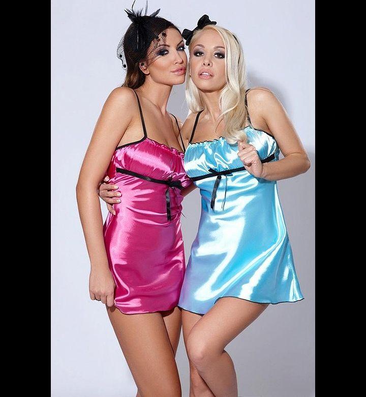 Satin lesbians