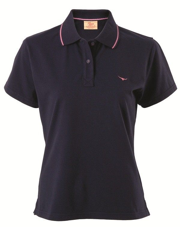 RM Williams Womens Sandgate Polo, Horse Riding Clothing, Riding Jackets, Vests, Casual tops, Belts, Horseland