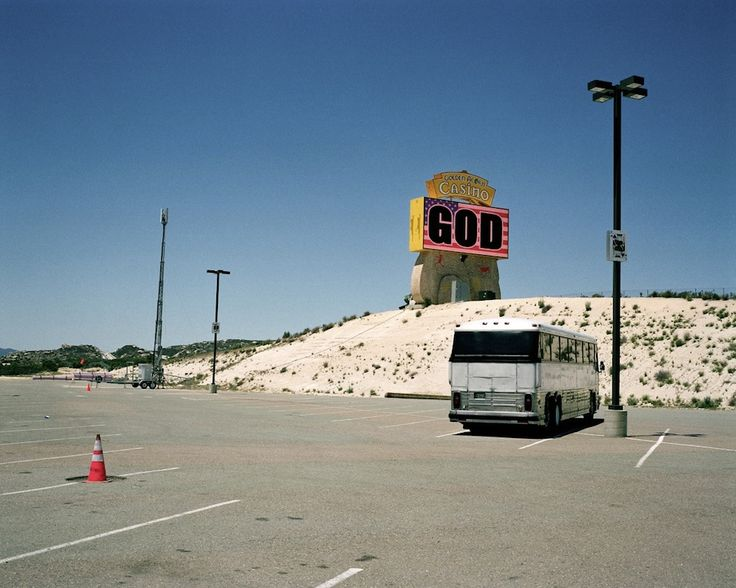 André Lützen `God´from the series ; `Before Elvis there was nothing´.